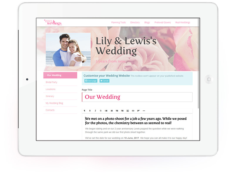 easy-weddings-tool-website-screen-edit-ipad