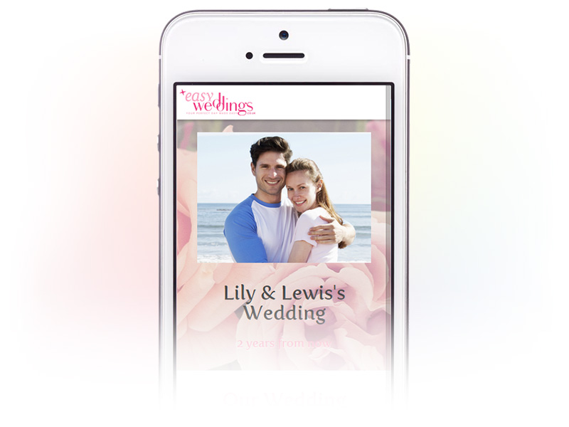easy-weddings-tool-website-screen-mobile