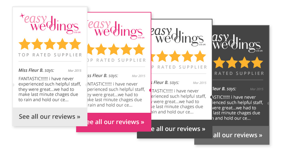 Easy Weddings Reviews Widget themes