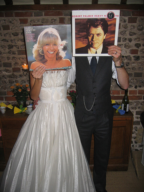 Olivia Newton-John and Robert Palmer make for a dashing couple, don't you think? Image: Christophe Gowans via Flickr