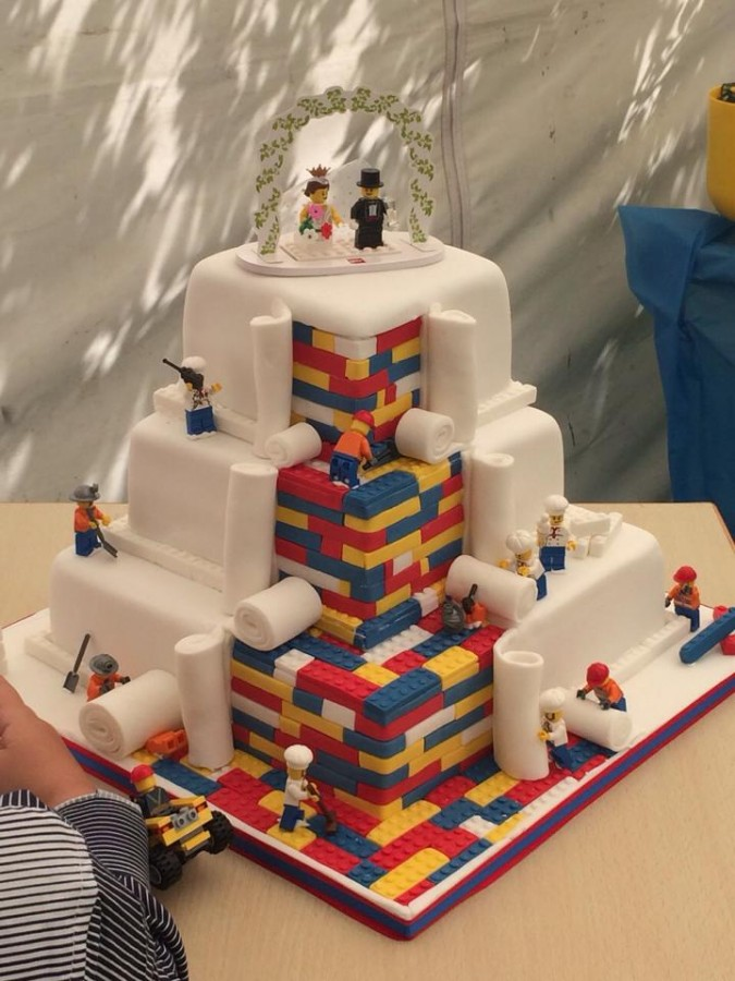 Lego Wedding Cake baked by Cupcakes by SJ