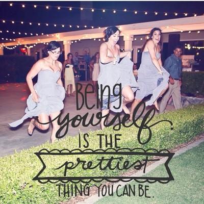 #BridesmaidsGoneWild letting their hair down