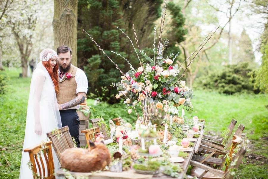 Boho inspired outdoor wedding. Image: Love My Dress