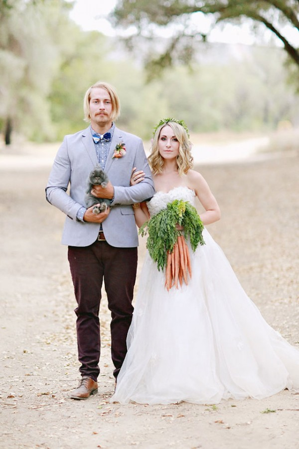 Farmer's market bouquet  Image: Brooke Aliceon Photography