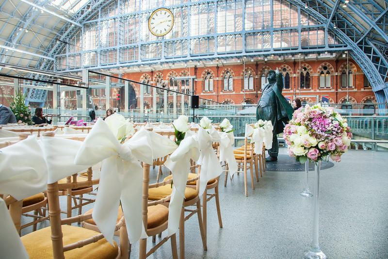 Kings Cross St Pancras International Wedding Venue Reception Venue