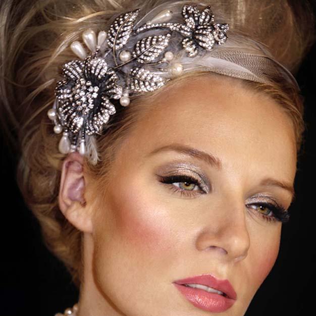 Laurel inspired. Image: Crystal Bridal Accessories