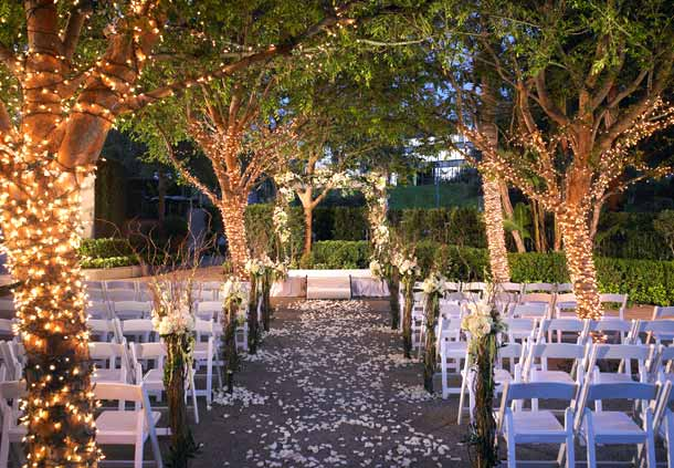 Outdoor wedding theme ideas