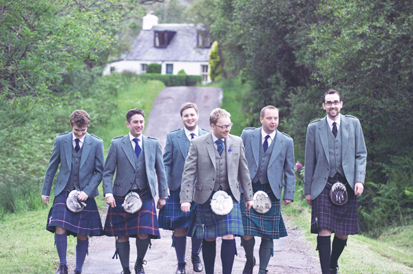 Scottish kilts. Image: Ruffles Blog