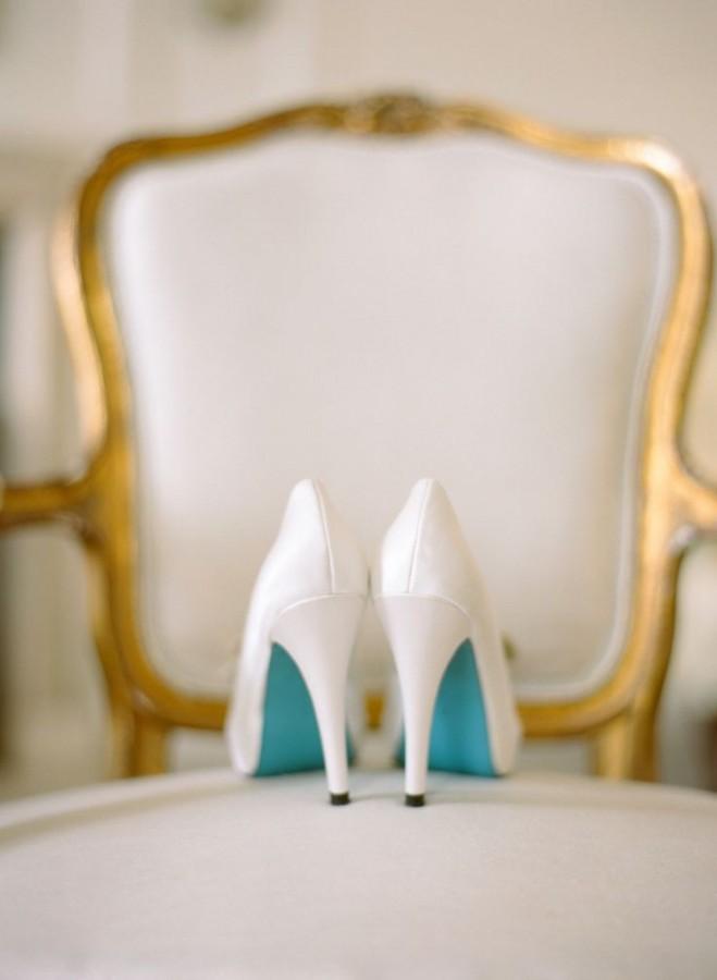 Something Blue Wedding Ideas - High Heels