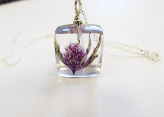 Thistle pendant. Image: Etsy