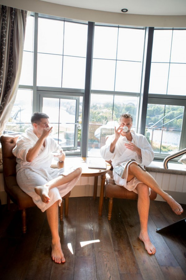 This groom ditched his bride on the morning of the wedding to shoot photos with his best man