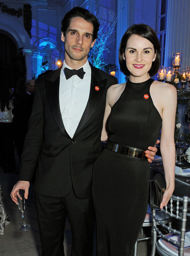 Michelle Dockery's fiance John Dineen died of a rare form of cancer. Image: David M.Bennett/Centrepoint/Getty Images via Huffington Post