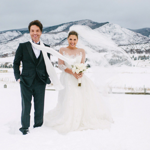 Daisy Fuentes and Richard Marx have married in Aspen. Image: Daisy Fuentes via Twitter
