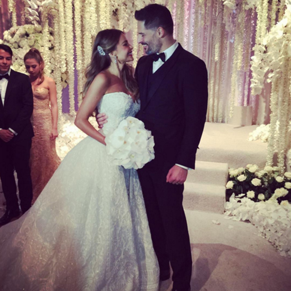 Sofia Vergara and Joe Manganiello have wed in a luxurious ceremony in Florida. Image: Sofia Vergara via Instagram